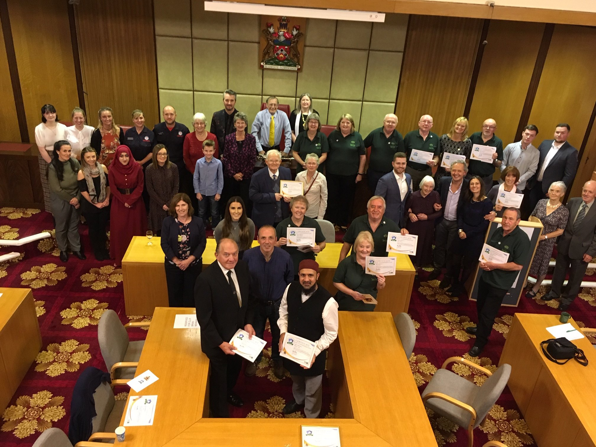The Good Life Project was awarded the Pendle Mayor's Commendation award for going the extra mile and making an outstanding contribution to the quality of life in Pendle.